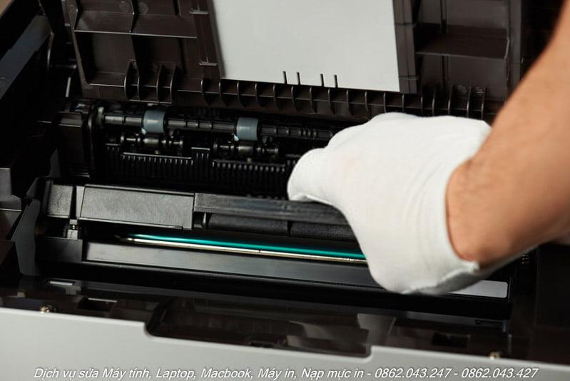 Nạp mực máy in laser màu tại nhà