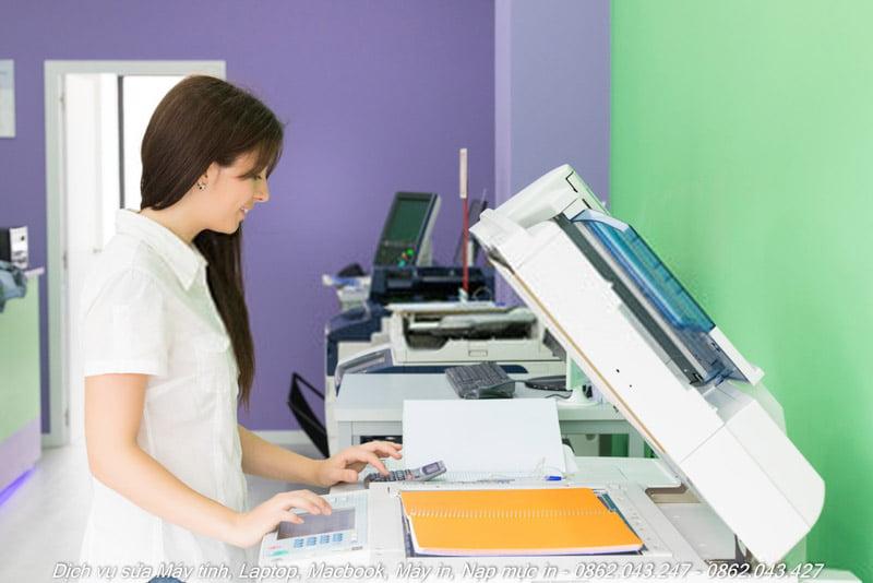 Nạp mực máy photocopy tại TPHCM
