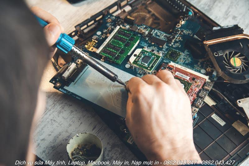 Sửa máy tính, laptop, Macbook, Máy in quận 7
