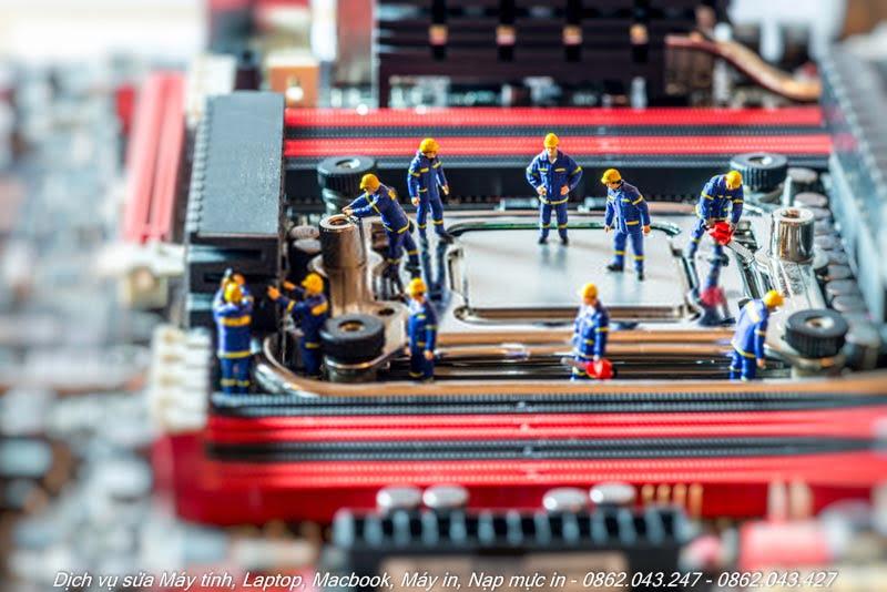 Sửa máy tính uy tín tại nhà TPHCM