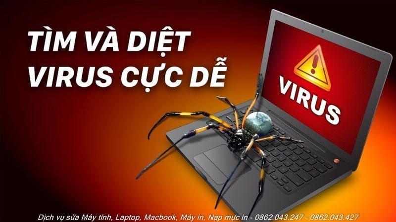diệt virus tại nhà