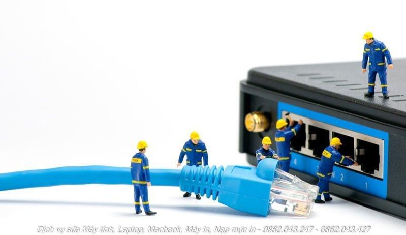 dịch vụ khắc phục sự cố mạng internet