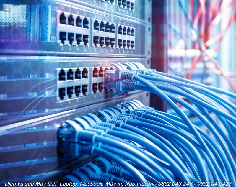 Khắc phục sự cố mạng internet