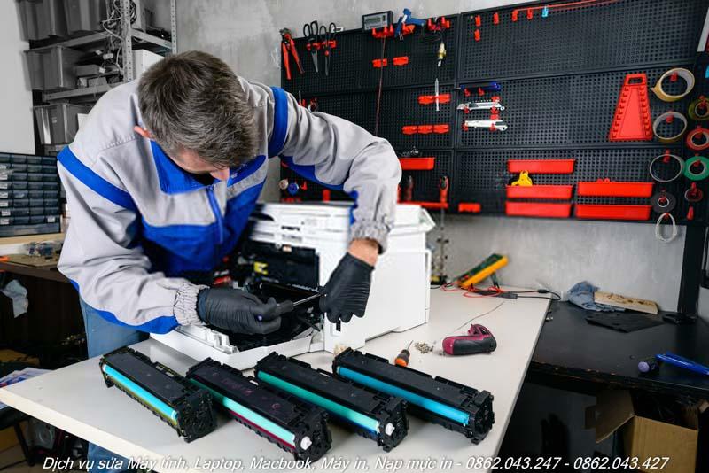 Dịch vụ sửa máy in tại nhà Quận Thủ Đức