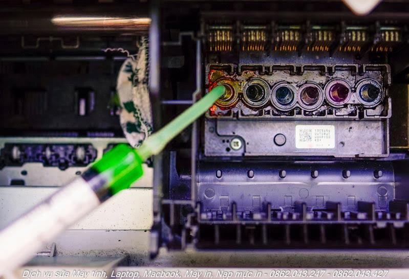 Bơm mực máy in phun màu