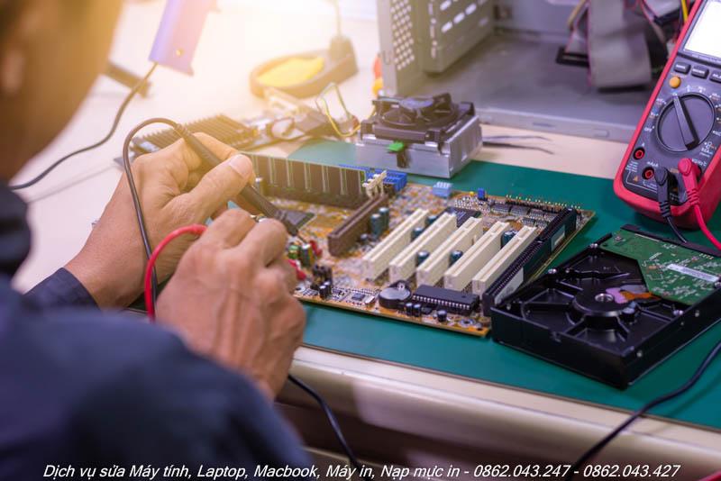 Cửa hàng sửa máy tính tại quận 7
