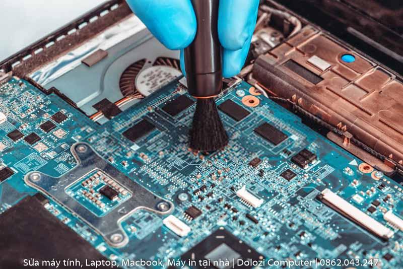 Vệ sinh laptop tại nhà quận bình thạnh