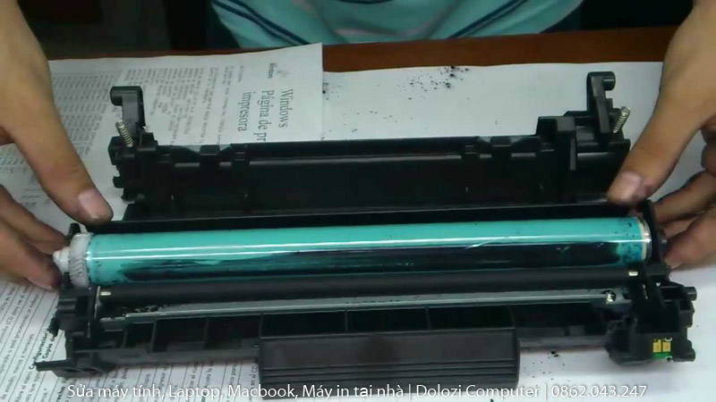 bơm mực máy in tại nhà giá rẻ