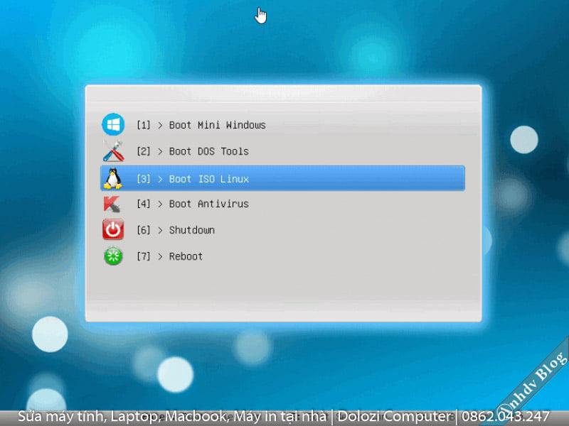 boot vào UEFI để cài win bằng usb