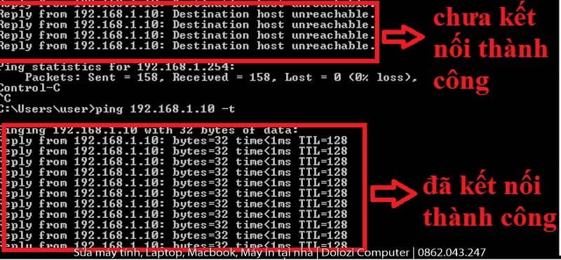 Ping địa chỉ IP
