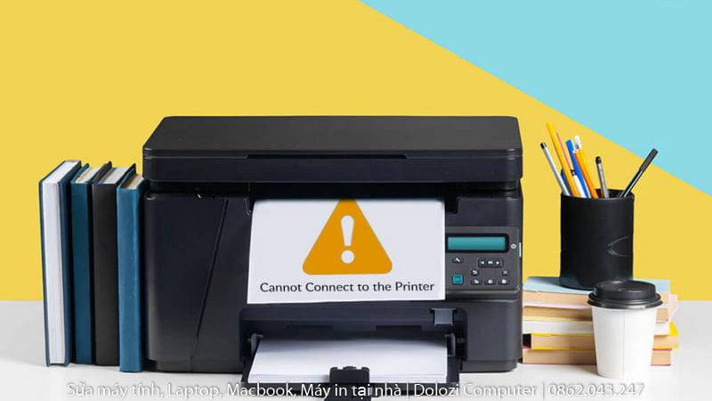 khắc phục sự cố máy in