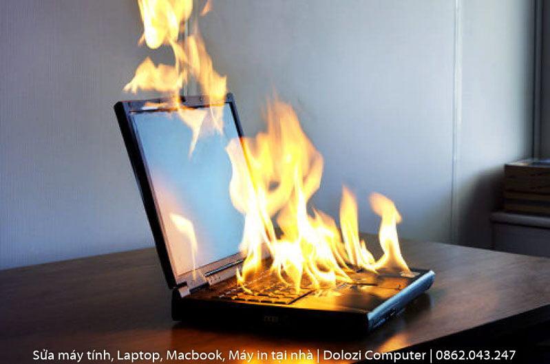 khắc phục sự cố Laptop bị nóng