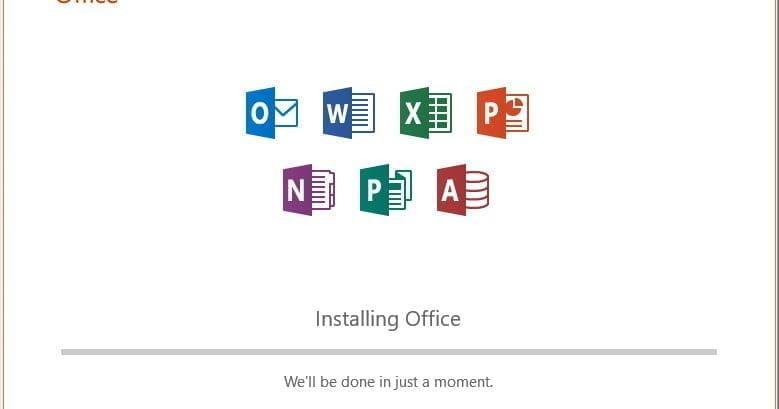 Cài đặt phần mềm Office 2019