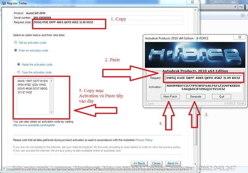 crack phần mềm autocad 2010