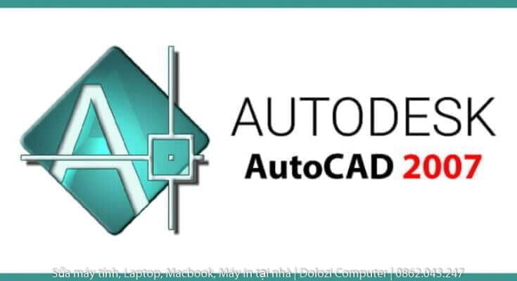 tải phần mềm Autocad 2007