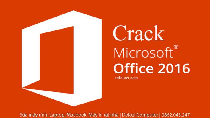 Crack Office 2016