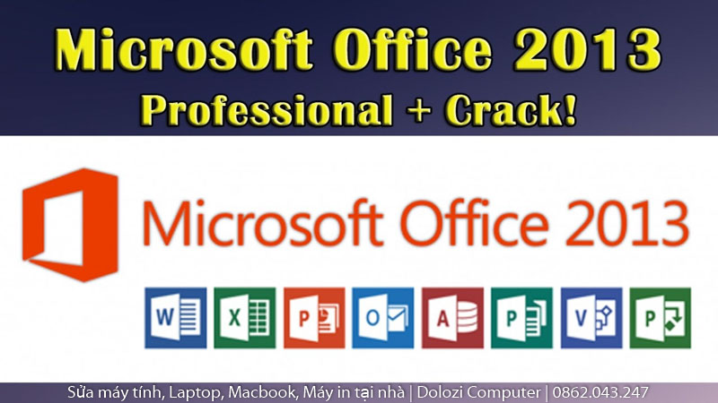 Crack Office 2013
