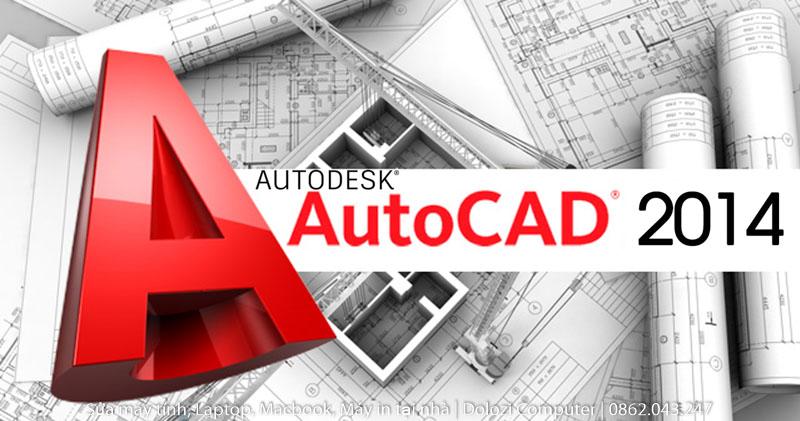 Hướng dẫn tải và cài đặt autocad 2014 Full Crack