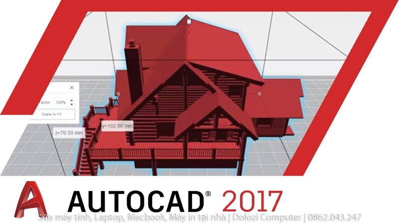Hướng dẫn tải và cài đặt Autocad 2017 Full Crack