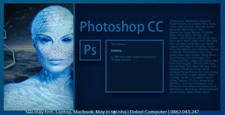 Hướng dẫn cài đặt Photoshop CC 2014 Full Crack