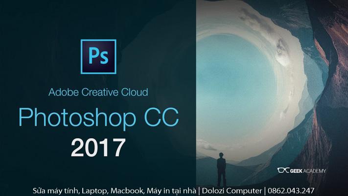Hướng dẫn cài đặt phần mềm photoshop CC 2017 full crack