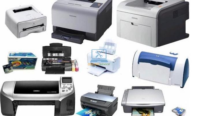Nhận bơm mực tất cả các dòng máy in trên thị trường