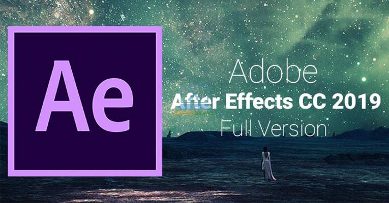 Hướng dẫn cài đặt After Effects 2019 Full Crack