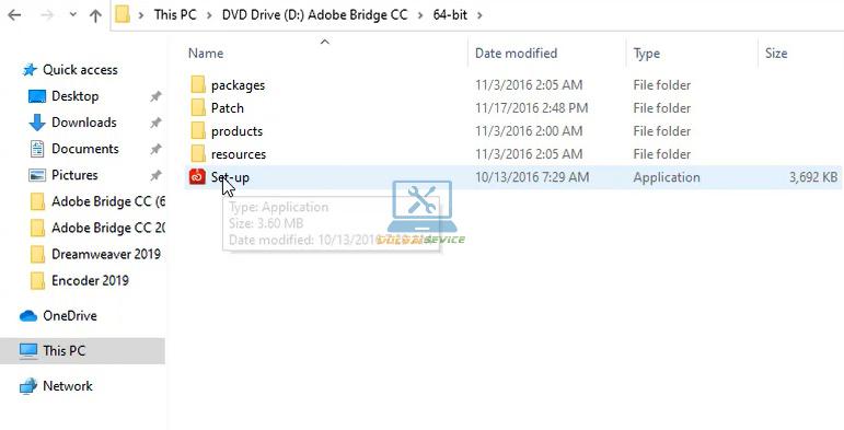 Chạy File cài đặt phần mềm