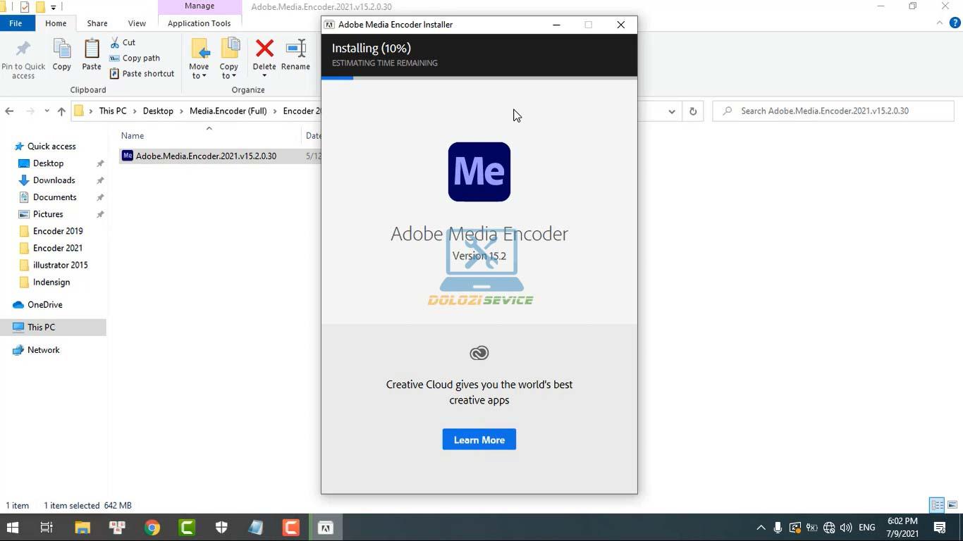 Đợi phần mềm Encoder 2021 Full Crack cài đặt hoàn tất