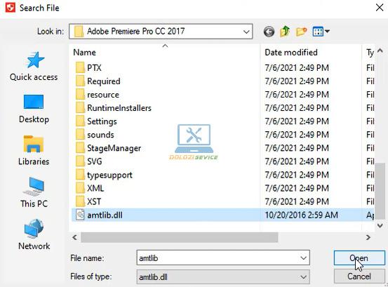 Chọn File kích hoạt bản quyền