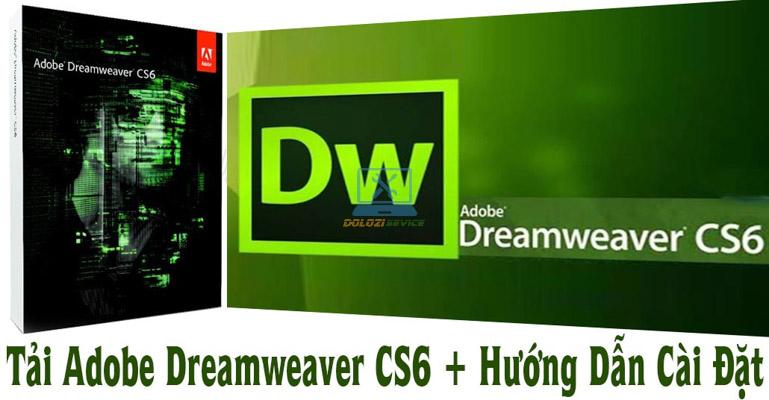 Hướng dẫn cài đặt Dreamweaver CS6 Full Crack