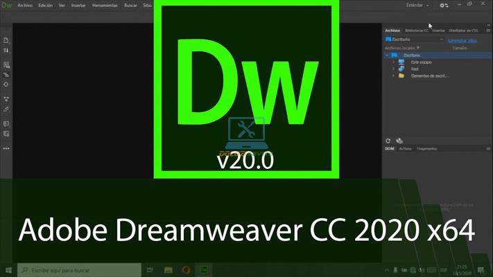 Hướng dẫn cài đặt Dreamweaver 2020 Full Crack