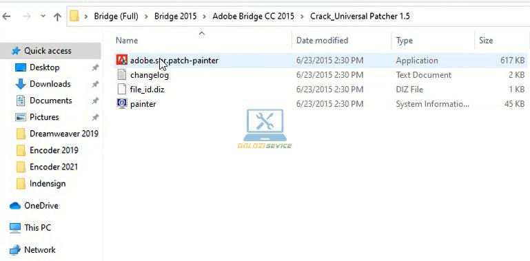 Vào thư mục Crack Copy File như hình