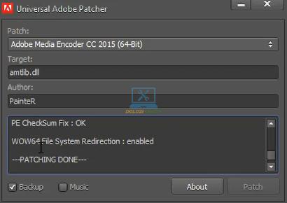 Kích hoạt thành công Encoder 2015 Full Crack