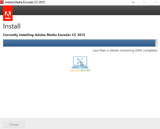 Đợi Encoder 2015 Full Crack cài đặt hoàn tất